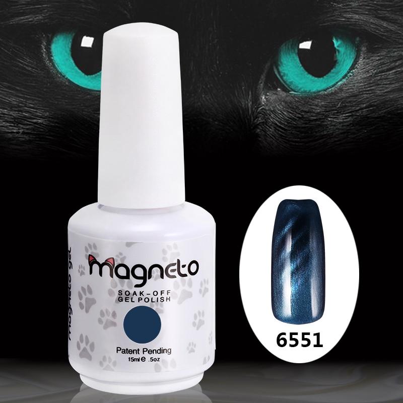 12pcs free shipping 15ml 0.5oz Mačje oči noktiju za nokte (10 boja - Manikura - Foto 1