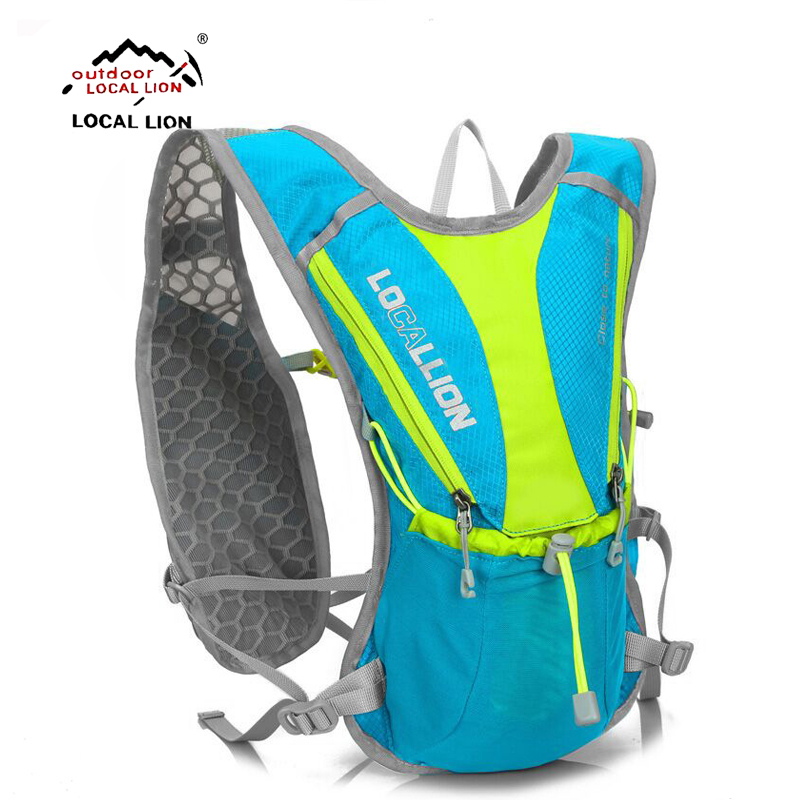 LOCALLION Outdoor cycling Running Water Hydration backpack bicycle bagRucksacks Hiking Lightweight Sport Bag Water Bag