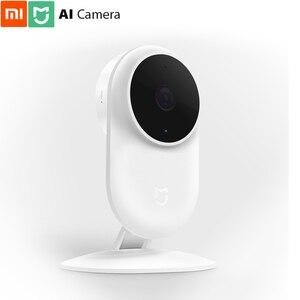 Image 1 - Original Xiaomi Mi Home AI Cam 1080p FHD 130 Wider AI Detect Human Shape Night View Full Duplex Voice NAS storage Safe Guard