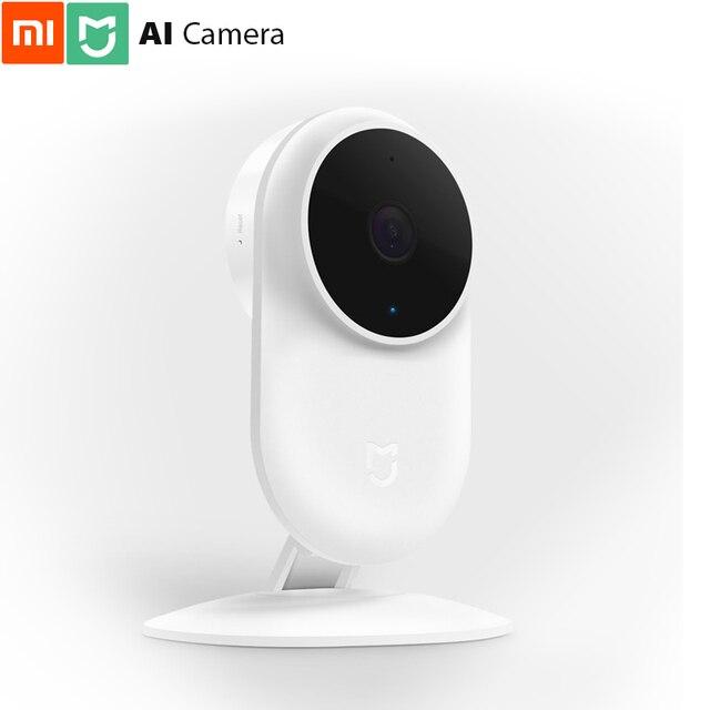 מקורי שיאו mi mi הבית AI מצלמת 1080p FHD 130 רחב יותר AI לזהות אדם צורת הלילה צפה מלא דופלקס קול NAS אחסון בטוח משמר