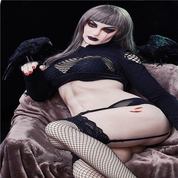 168cm Plus  # Mia Halloween St   TPE With Metal Skeleton Sex Dolls Real Masturbator Vajina Love Dolls Male Sex Dolls For Women