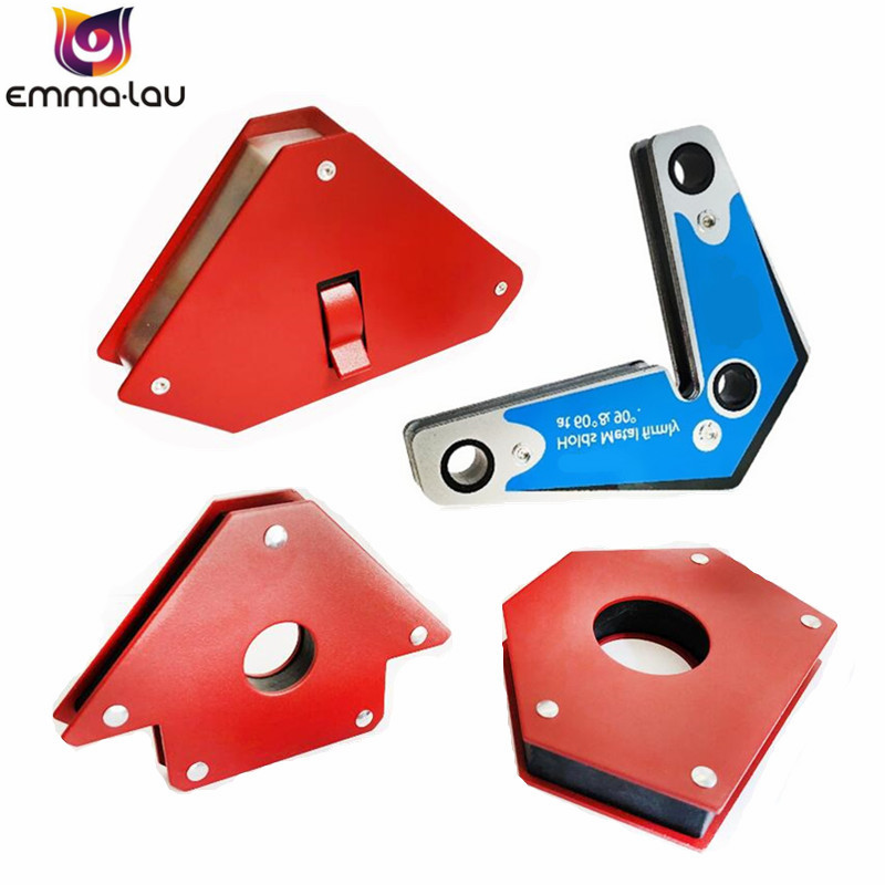 45/60/90/120/135 Angles Magnetic Holder Strong Magnet Welding Magnetic Locator Corner Welding Suction Positioner Power Tools