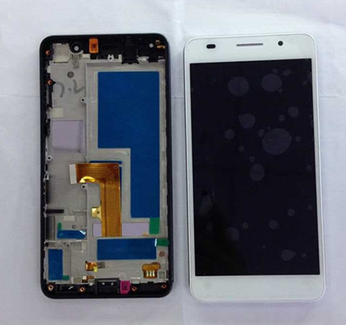 ФОТО LCD screen display+touch digitizer with frame For  Huawei Honor 6 white or black  dual sim slot ree shipping