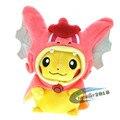 21 cm Lindo Pokemon Pikachu Cosplay Magikarp Felpa Juguetes Kawaii Anime Papeles de Peluche Muñecas Juguetes para Bebés y Niños Regalos
