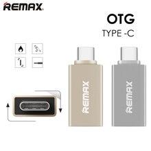 Remax USB-C 3.1 Типа С для USB 3.0 OTG Металла Адаптер Конвертер OTG Синхронизации Данных Зарядное Устройство Зарядки USB-КОНЦЕНТРАТОР Для MacBook для nokia N1 Жук 1