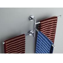 Нержавеющая сталь полотенцесушитель вращающаяся стойка для полотенец Ванная комната Кухня Настенный полотенцесушитель полированный держатель аксессуары
