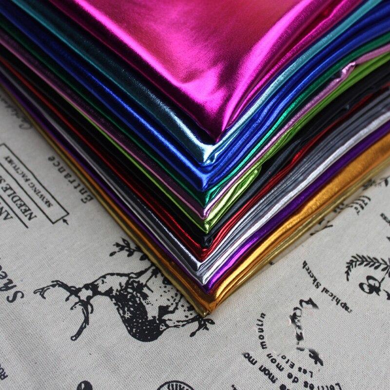 Polyester Spandex Stretch Laser gebreide stof gouden stempel Goede - Kunsten, ambachten en naaien