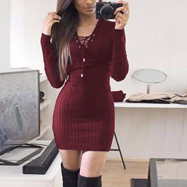 Vestidos invierno aliexpress