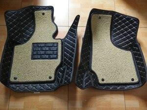 Image 2 - كارنونغ فرش سيارة للأقدام الطابق الجلود لأودي TT 4 مقعد من 2008 2016 مجموعة كاملة طبقتين الثابتة والمتنقلة التحقق من ذلك بعناية مع نموذج سيارتك