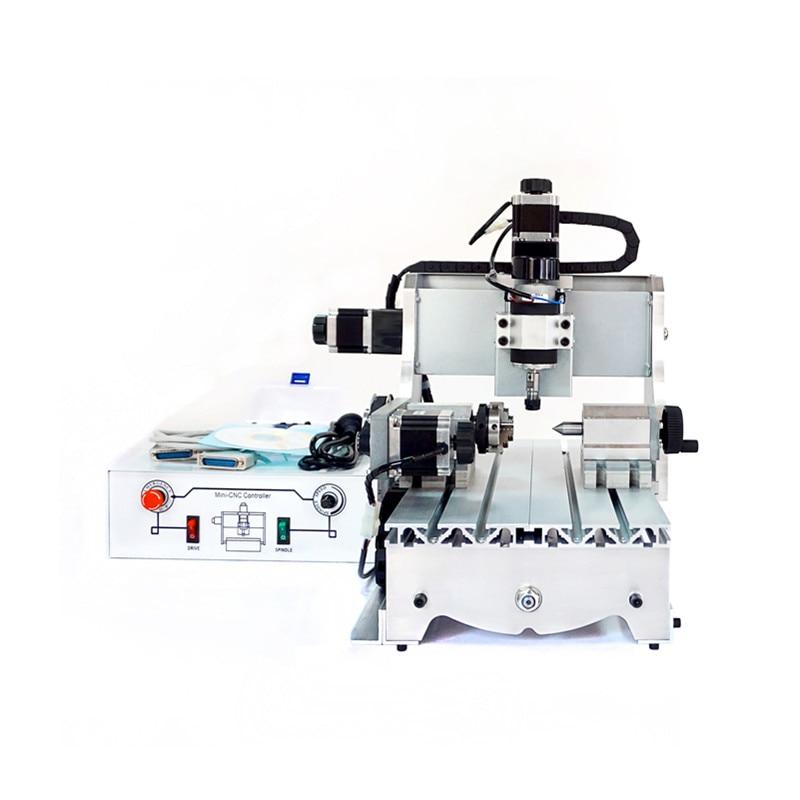 300W mini CNC router 3020 Z-D300 4axis cnc milling machine 220V CNC engraving machine for DIY 1500w mini cnc router cnc 3020 4 axis cnc milling machine with ball screw for wood metal