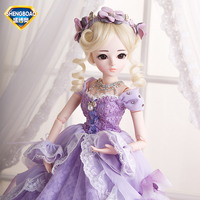 SHENGBOAO BJD Doll Princess SD Dolls 18 Joints Body Beauty Handmade Clothes Shoes Wig Makeup Dolls