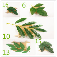 5 PCS/artificial silk simulation green leaves wedding home decoration DIY garland clip