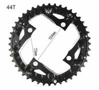 22T 32T 44T MTB Repair Crankset Mountain Road Bicycles Bikes Crank Hollow Chainrings Tooth Slice Parts