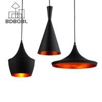 BDBQBL 3 Pieces Set Vintage Pendant Lights LOFT Lamp Avize Nordic Pendant Lamp Suspension Luminaire Home