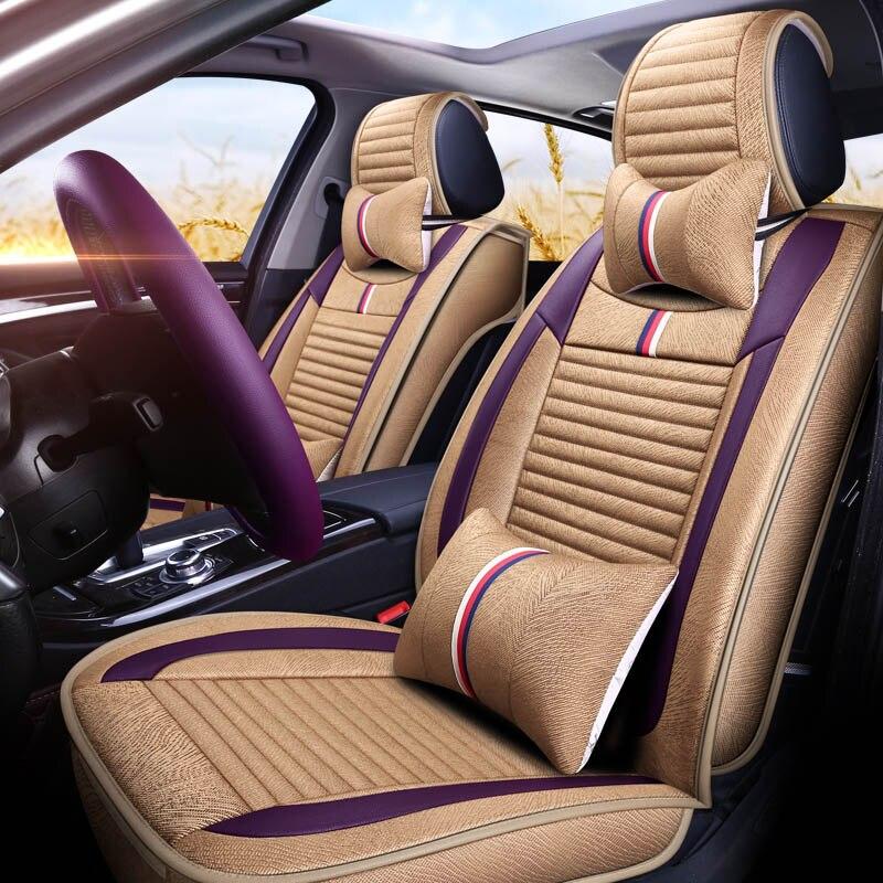Универсальный автомобильный чехол для сиденья сидений автомобилей протектор для BMW 740Ld 750Ld X1 E84 F48 X3 E83 F25 X4 F26 X5 e70 M F15 E53 X6 E71 E72