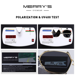 Image 5 - MERRYS Women Luxury Polarized Sunglasses Ladies Fashion Design Sun glasses UV400 Protection S6267