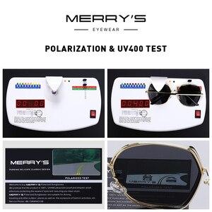 Image 5 - MERRYS gafas de sol polarizadas de lujo para mujer, lentes de sol con diseño a la moda, protección UV400 S6267