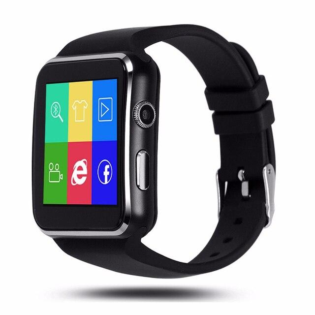 YUNSONG 2016 Новые Bluetooth Smart Watch X6 + Smartwatch спортивные часы для Apple iPhone Android мобильный Телефон С Камерой FM Поддержка SIM карты