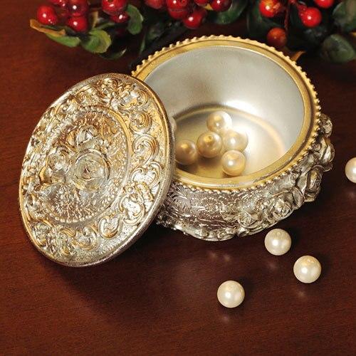 Livraison gratuite résine de mode boîte à bijoux de luxe boîte de la maison de stockage de qualité sculpté artisanat