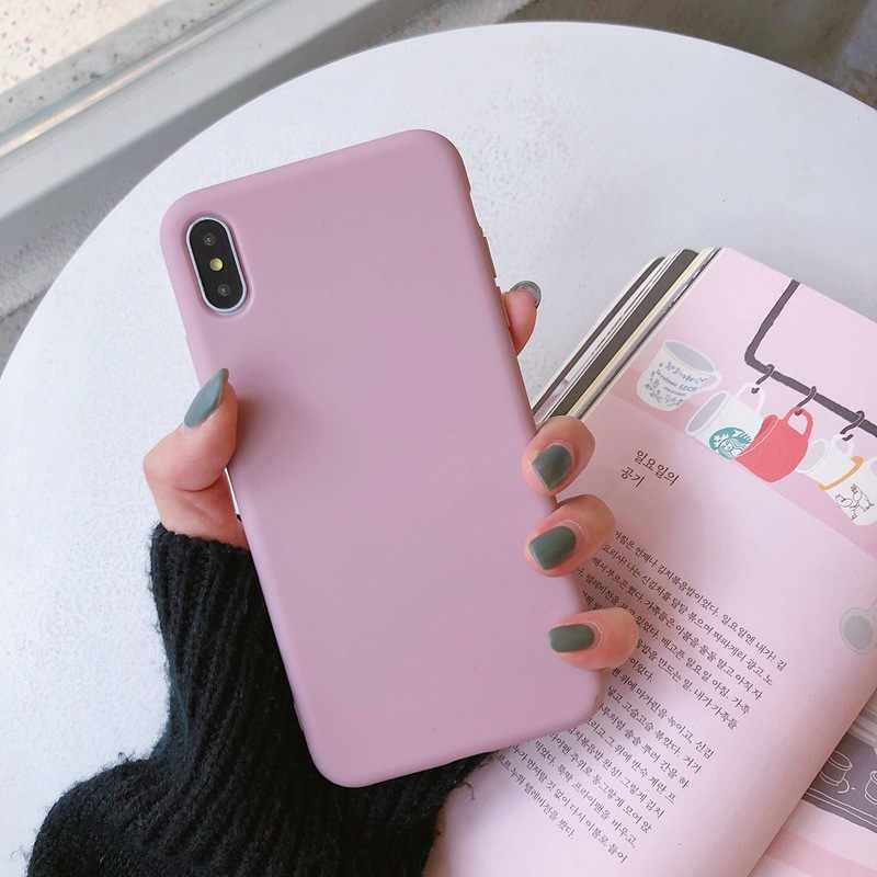 Candy Color Phone Case Cover For Huawei Mate 20 P30 pro Mate 10 20 P10 P20 Pro Nova 3 2s Honor 9 10 8X Y7 Soft Back Case fundas