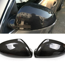 New Carbon Fiber Car Side Door View Mirrors Replacment Cover For Buick Regal 2009-2015