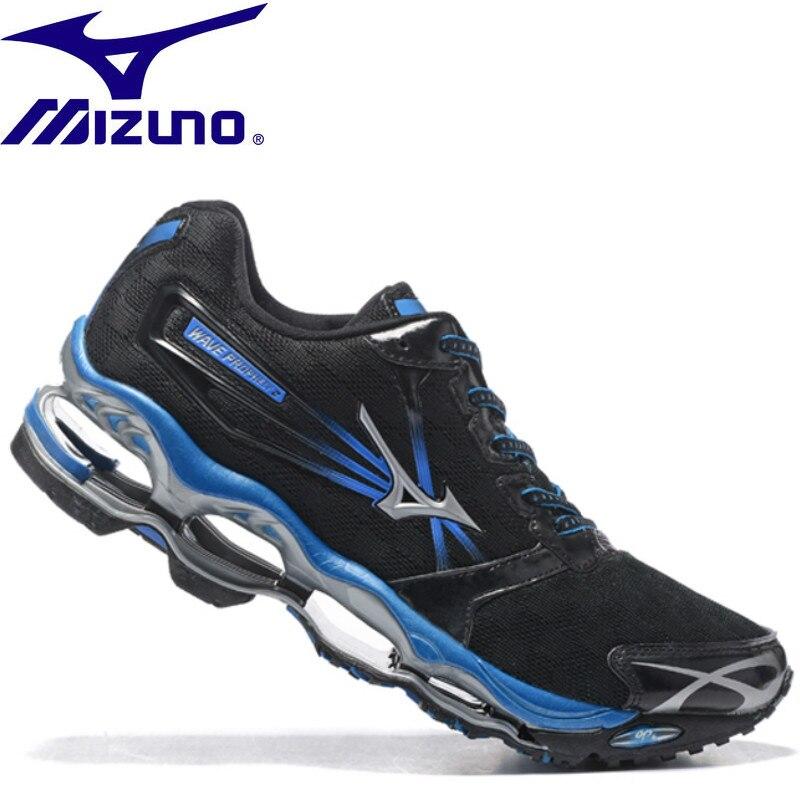 Здесь можно купить  MIZUNO WAVE Prophecy 2 professional Men Shoes running shoes Outdoor Air Cushioning Weightlifting Shoes 4 Color Size 40-45  Спорт и развлечения