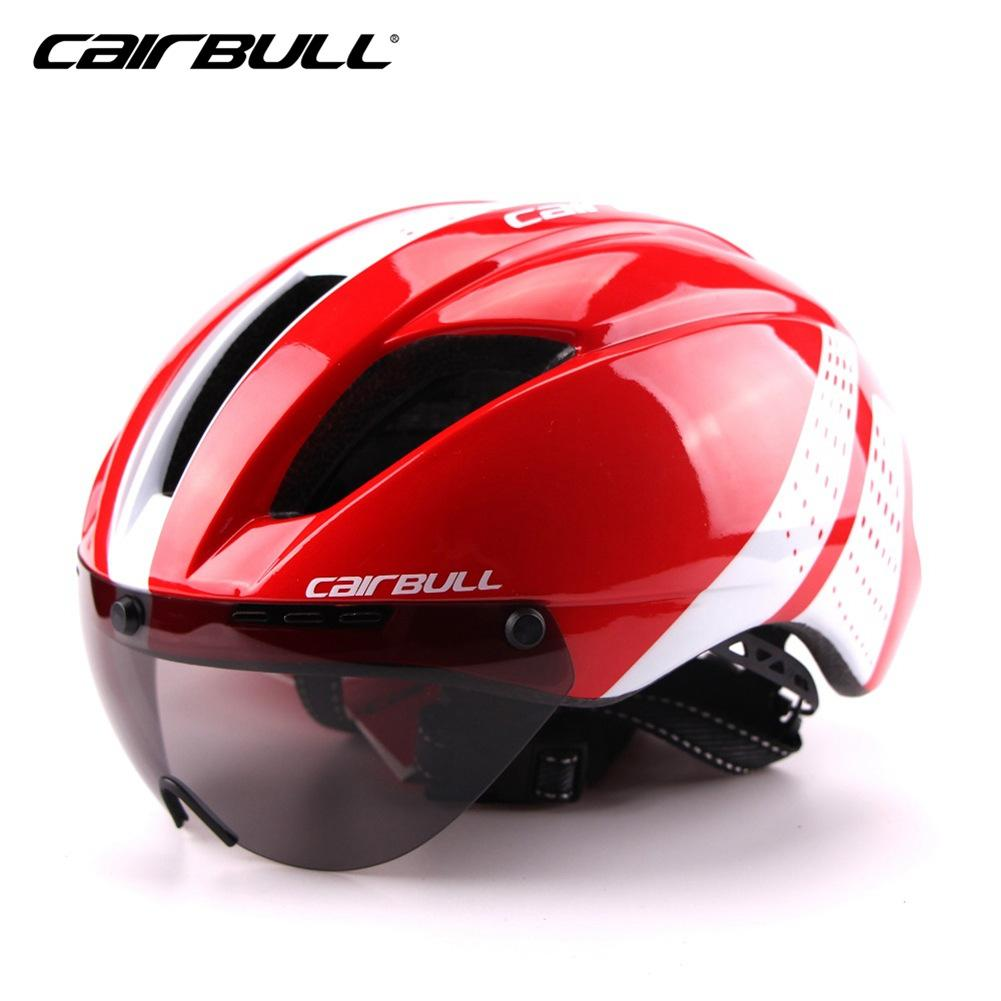 CAIRBULL Bicycle Helmet Cycling Safety Ultra light Goggle TT Road Bicycle Racing Cycling Bike Sports Safety Helmet 8 Colors