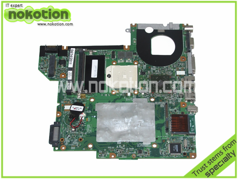 NOKOTION 462535-001 453411-001 48.4S601.03M Laptop Motherboard for HP Pavilion DV2000 V3000 Series GeForce 7150 Mainboard nokotion 653087 001 laptop motherboard for hp pavilion g6 1000 series core i3 370m hm55 mainboard full tested