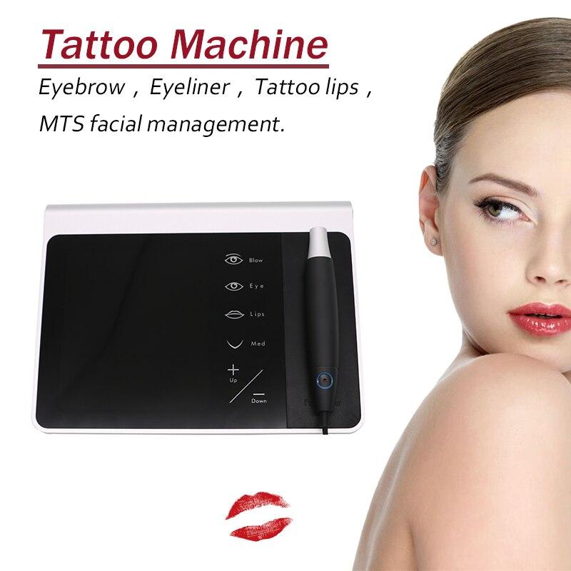 2018 Новый dermographe Макиллаж V7 Перманентный макияж цифровой татуировки набор для тату татуировки иглы ручка татуировки МТС Liberty