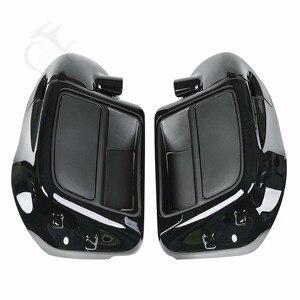 """Image 3 - Motocicleta inferior ventilado carenagem 6.5 """"alto falante com capa para harley touring road king glide rua glide estrada 2014 2020"""