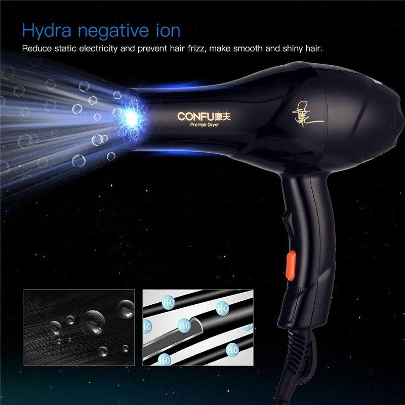 2100 Вт Professional Фен Инструменты для укладки волос парикмахерских и Ho использовать держать использовать турмалин ионизации
