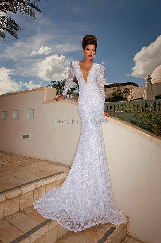 Elegant Long Sleeve Dimitrius Dalia Indonesia Bridal Gown Ebay