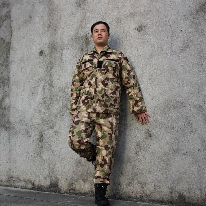 Men Camouflage Uniform Army Equipment Tactical Combat Set Airsoft Suit Pants Jacket Pants Hunting Clothes Pantingball