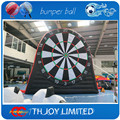 16.5ftH  giant inflatable dart board,football soccer dart board,inflatable soccer dart game