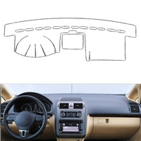 Fit For VW Touran 2004 2015 Auto Car Dashboard Cover Avoid Light Pad Instrument Platform Dash