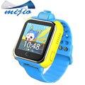 Inteligente relógio JM13 Q730 3G rastreador GPS para o miúdo do bebê WI-FI posição Do Cartão Sim Da Câmera Giratória criança smartwatch pk Q90 Q50 bebê relógio