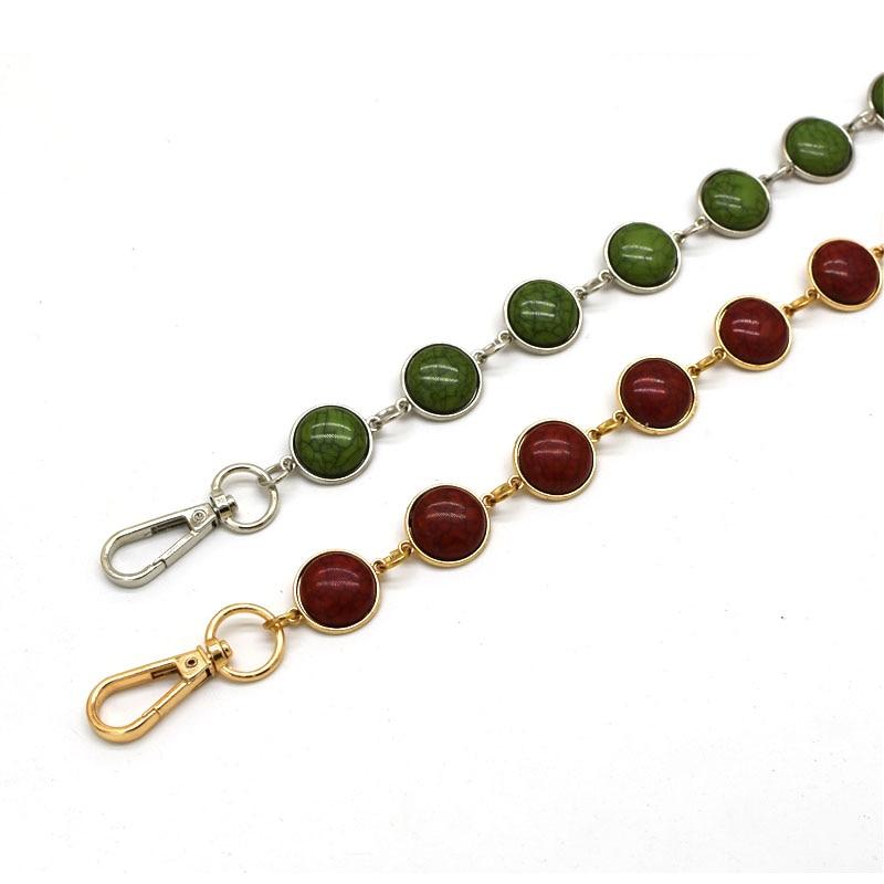 MM FOND 8 Turqoise Color Design Women Fashion Handbag Strap Good Looking Easy Matching Gilr Fashion Beaded Cross Body Bag belt handbag