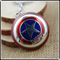 MXM 009 The Avengers New Marvel Super Hero Captain America Shield Action Figure Keychain Zinc Alloy Keyring Doll