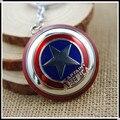 Mxm 009 The Avengers nuevo Marvel Super Hero Captain America Shield figura de acción llavero de aleación de Zinc llavero muñeca