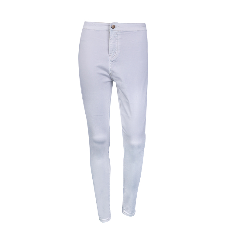 Women Stretch Black Skinny Jeans With High Waist Denim Blue Ladies Push Up White Jeans 21