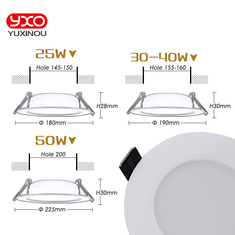 1 unids regulable impermeable LED Downlight AC110V 220V 7W / 9W / 12W - Iluminación interior - foto 5