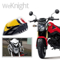 Front Upper Cowl Headlight Headlamp Head Light Lamp Cover Wind Shield Screen White For HONDA Grom MSX 125 MSX125 2013 2014 2015