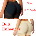 Mujeres mesh underwear butt enhancer y culo falso cadera short acolchado butt lift body con relleno
