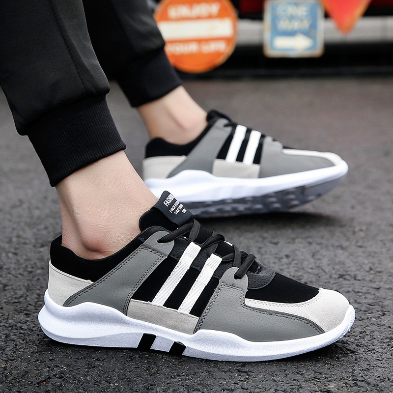 summer classic black and white low to help casual shoes new men 39 s shoes breathable sneakers male students fashion travel trend in Men 39 s Casual Shoes from Shoes