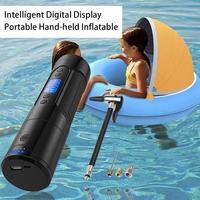 Air Pump Intelligent Digital Display Portable Handheld Wireless Car Tire Electric Air Pump Bicycle Pump
