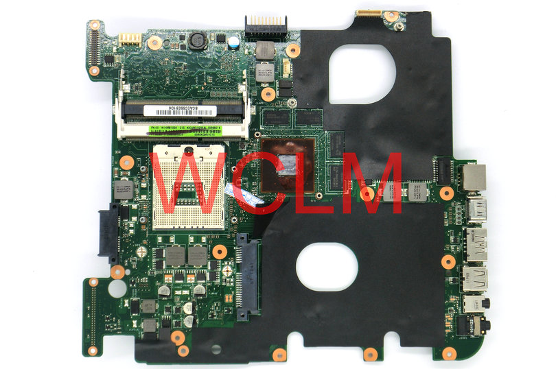 free shipping brand original laptop motherboard N43JM FOR N43JQ MAIN BOARD 60-N1HMB1000-C15 N11P-GT-A1 100% Tested Working Well free shipping brand original k55vm laptop motherboard main board 69n0m2m11c06 100% tested working well
