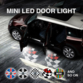 mini cooper door light laser light projection LED projector door shadow logo light welcome lamps courtesy light kit
