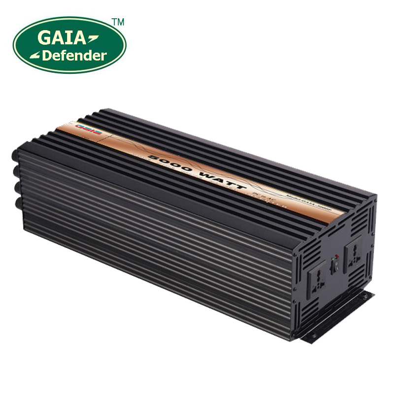 цена на 5000W Pure Sine Wave Power Inverter Peak 10000w off-grid DC12V 24V 48V AC 100V 110V 220V 230V 240V solar wind battery car