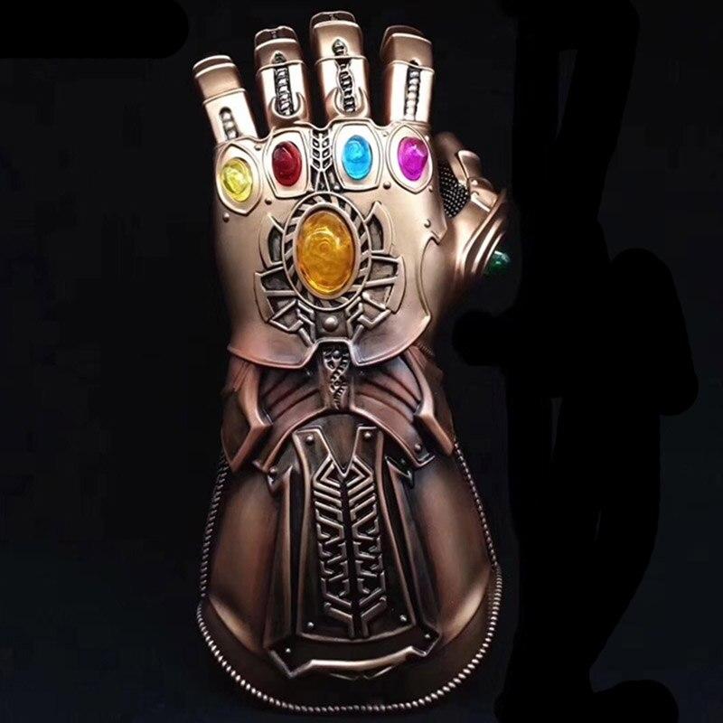 Incredibile The Avengers 3 Guanti Da Indossare Guanti Thanos Infinity Gauntlet Cosplay Guanto Puntelli Del Partito di Halloween per Gli Uomini Boy Collection Regalo