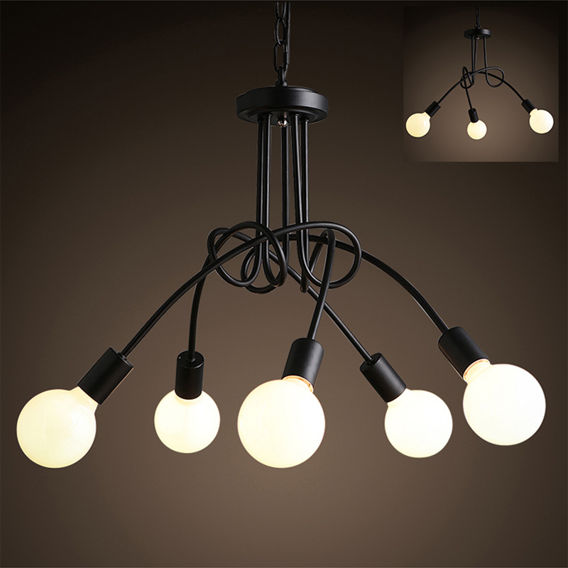 SinFull Fashion Design 3/5 Heads Ceiling Lights Kids Room Nordic Dome Home Ceiling Lamp black white lighting fixture lustre fashion design of kids room lamp nordic dome light 3 5 heads ceiling lights for home decorate